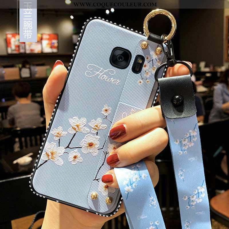 Housse Samsung Galaxy S7 Silicone Tout Compris Art, Étui Samsung Galaxy S7 Protection Téléphone Port