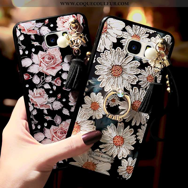 Étui Samsung Galaxy S7 Téléphone Portable Anneau Étoile, Coque Samsung Galaxy S7 Blanc Blanche