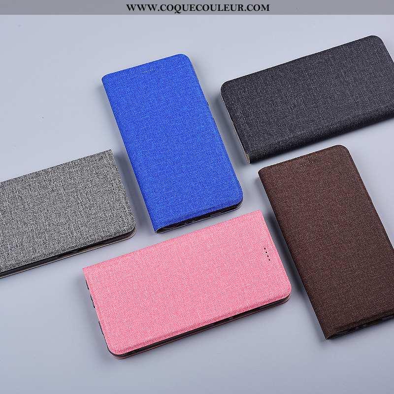 Coque Samsung Galaxy S8 Cuir Bleu Lin, Housse Samsung Galaxy S8 Tout Compris Téléphone Portable