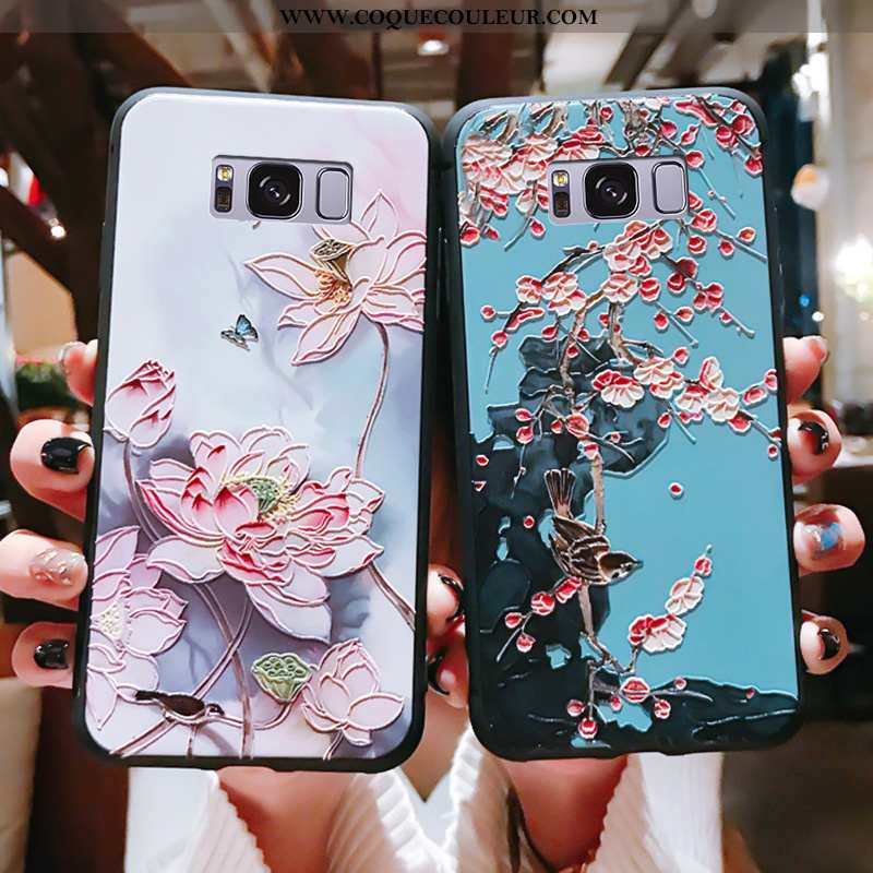 Coque Samsung Galaxy S8 Protection Support Ultra, Housse Samsung Galaxy S8 Ornements Suspendus Silic