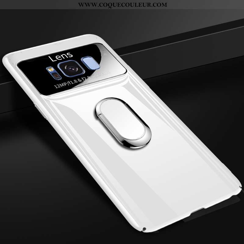Coque Samsung Galaxy S8 Protection Ultra Personnalité, Housse Samsung Galaxy S8 Verre Blanche