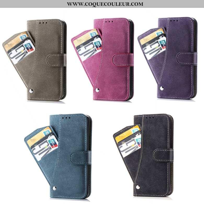 Housse Samsung Galaxy S8 Cuir Téléphone Portable Housse, Étui Samsung Galaxy S8 Fluide Doux Étoile V