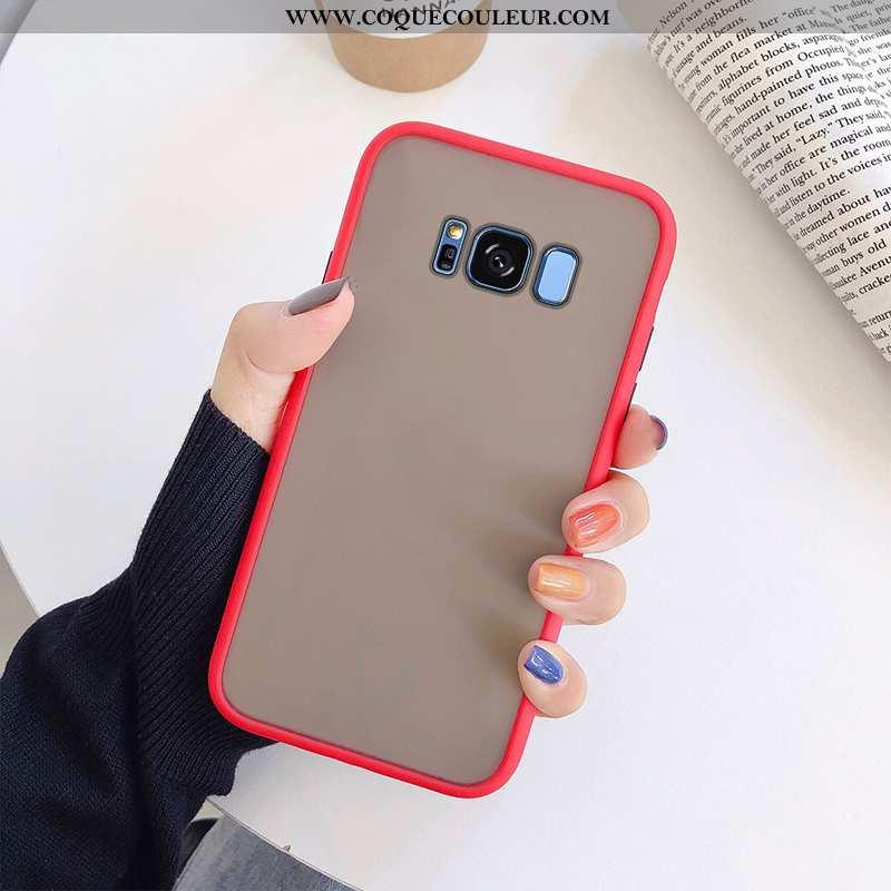 Housse Samsung Galaxy S8 Silicone Difficile Téléphone Portable, Étui Samsung Galaxy S8 Transparent R