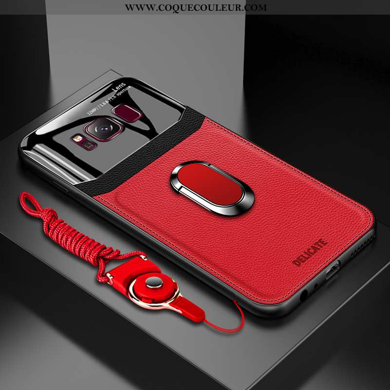 Coque Samsung Galaxy S8 Personnalité Rouge Téléphone Portable, Housse Samsung Galaxy S8 Créatif Net