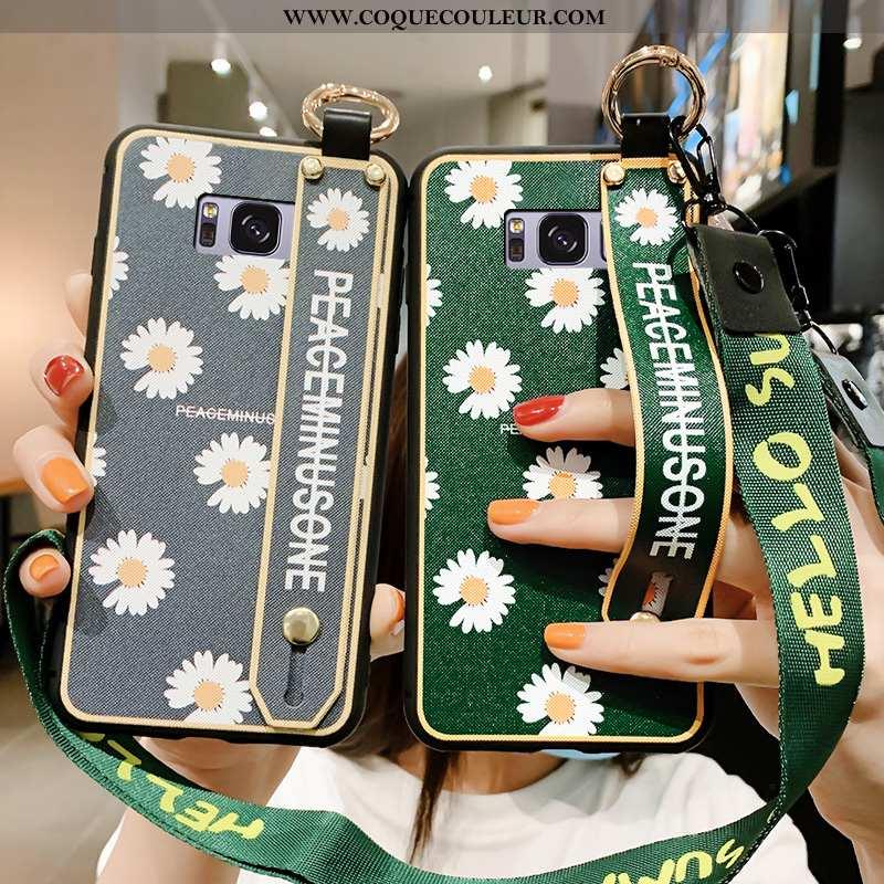 Étui Samsung Galaxy S8+ Tendance Vert Protection, Coque Samsung Galaxy S8+ Silicone Téléphone Portab