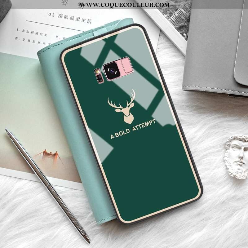 Housse Samsung Galaxy S8+ Silicone Protection Téléphone Portable, Étui Samsung Galaxy S8+ Mode Petit
