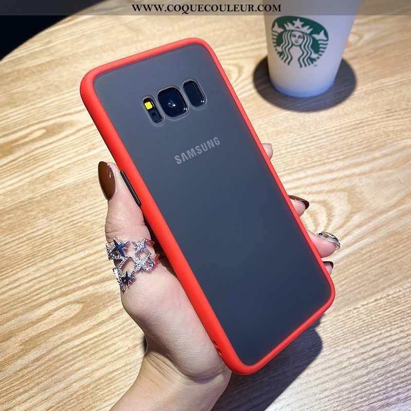 Étui Samsung Galaxy S8+ Délavé En Daim Tout Compris Étoile, Coque Samsung Galaxy S8+ Personnalité Ro