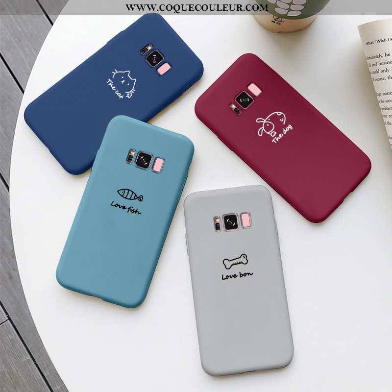 Housse Samsung Galaxy S8+ Charmant Silicone Personnalité, Étui Samsung Galaxy S8+ Tendance Fluide Do