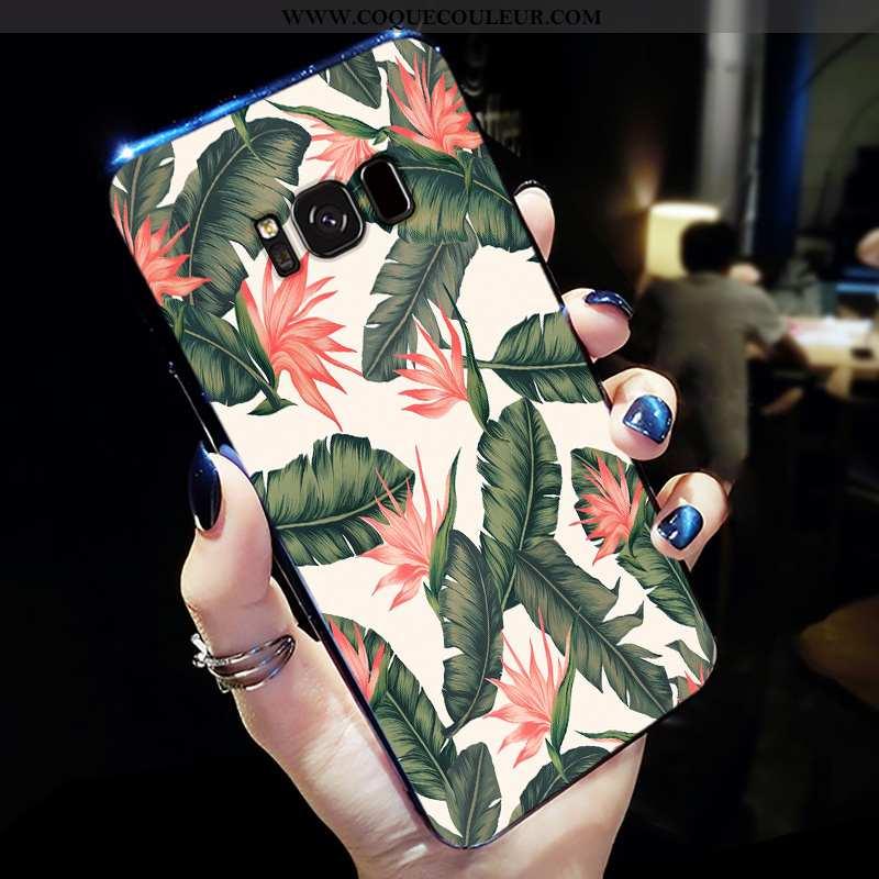 Étui Samsung Galaxy S8+ Personnalité Étoile Simple, Coque Samsung Galaxy S8+ Créatif Fluide Doux Ver