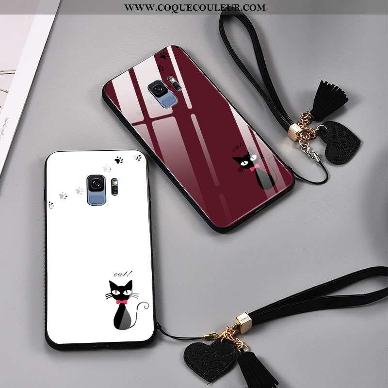 Housse Samsung Galaxy S9 Créatif Personnalité Étoile, Étui Samsung Galaxy S9 Dessin Animé Amoureux R
