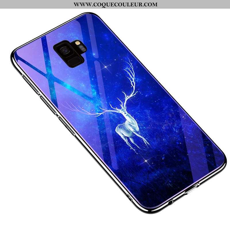 Étui Samsung Galaxy S9 Créatif Téléphone Portable Tout Compris, Coque Samsung Galaxy S9 Ultra Tendan