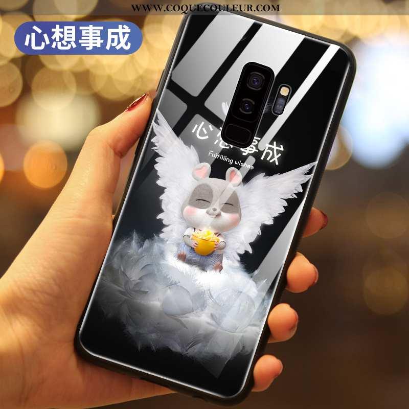 Housse Samsung Galaxy S9+ Créatif Protection Téléphone Portable, Étui Samsung Galaxy S9+ Dessin Anim