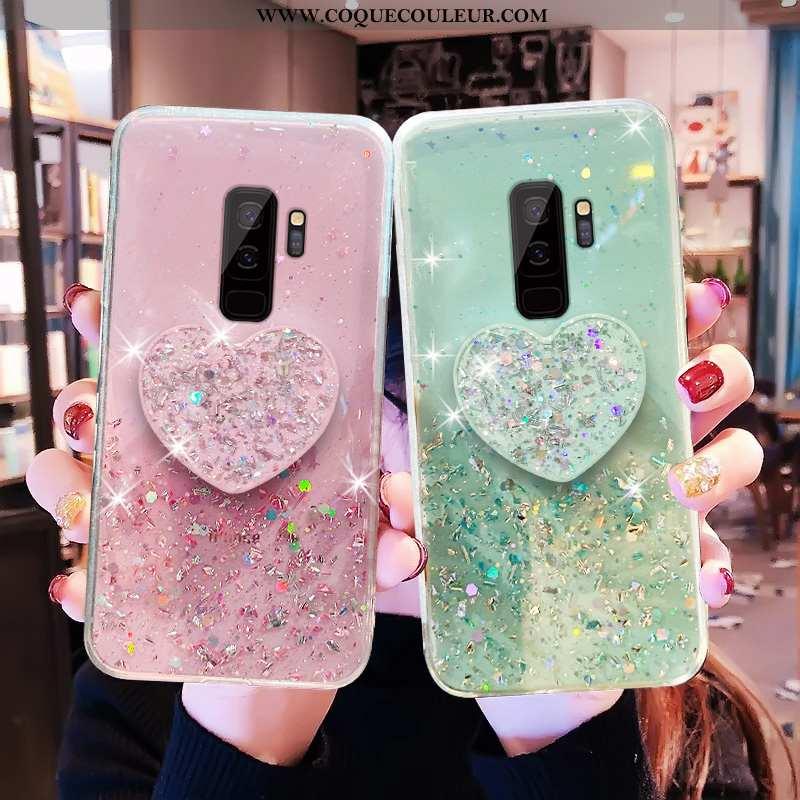 Étui Samsung Galaxy S9+ Tendance Incassable Téléphone Portable, Coque Samsung Galaxy S9+ Protection