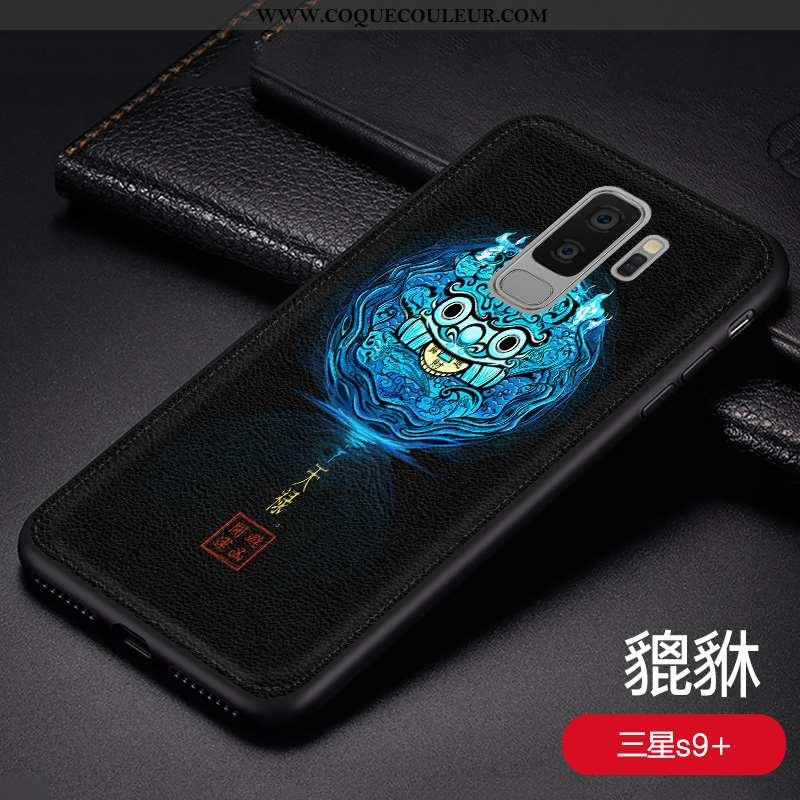Housse Samsung Galaxy S9+ Personnalité Téléphone Portable Protection, Étui Samsung Galaxy S9+ Créati