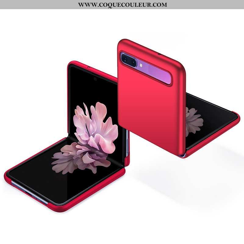 Étui Samsung Z Flip Protection Téléphone Portable Étoile, Coque Samsung Z Flip Tendance Rouge