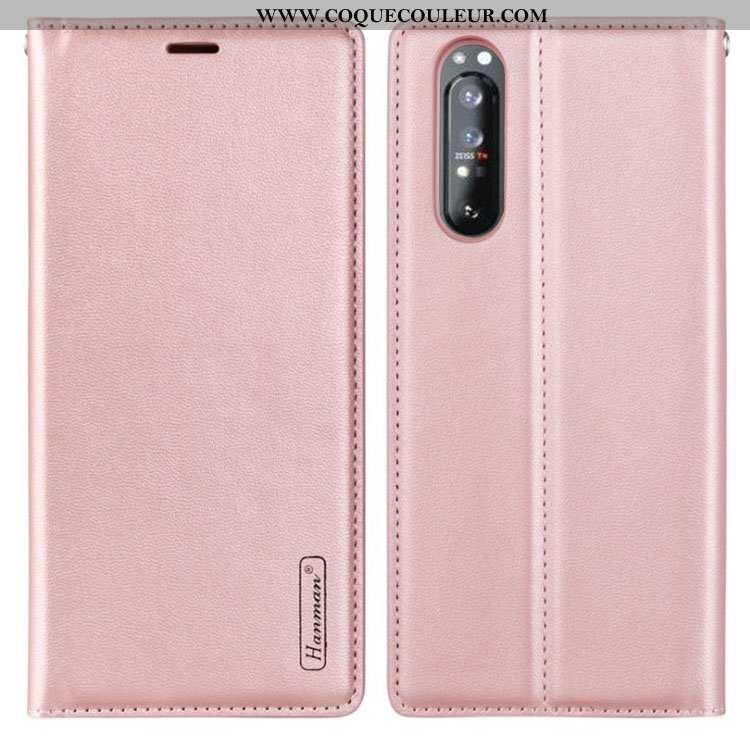 Coque Sony Xperia 1 Ii Cuir Téléphone Portable Étui, Housse Sony Xperia 1 Ii Cuir Véritable Véritabl