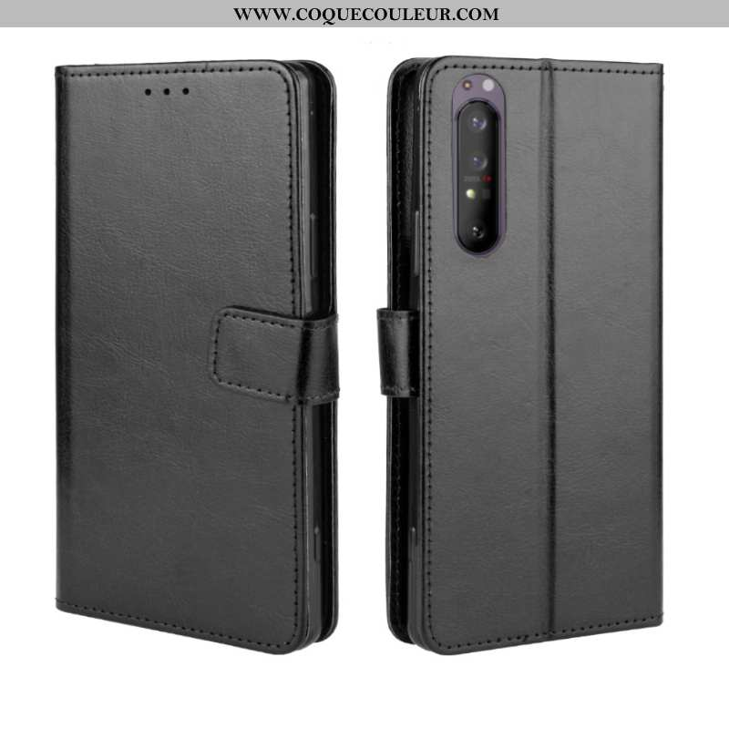 Étui Sony Xperia 1 Ii Modèle Fleurie Incassable Téléphone Portable, Coque Sony Xperia 1 Ii Protectio