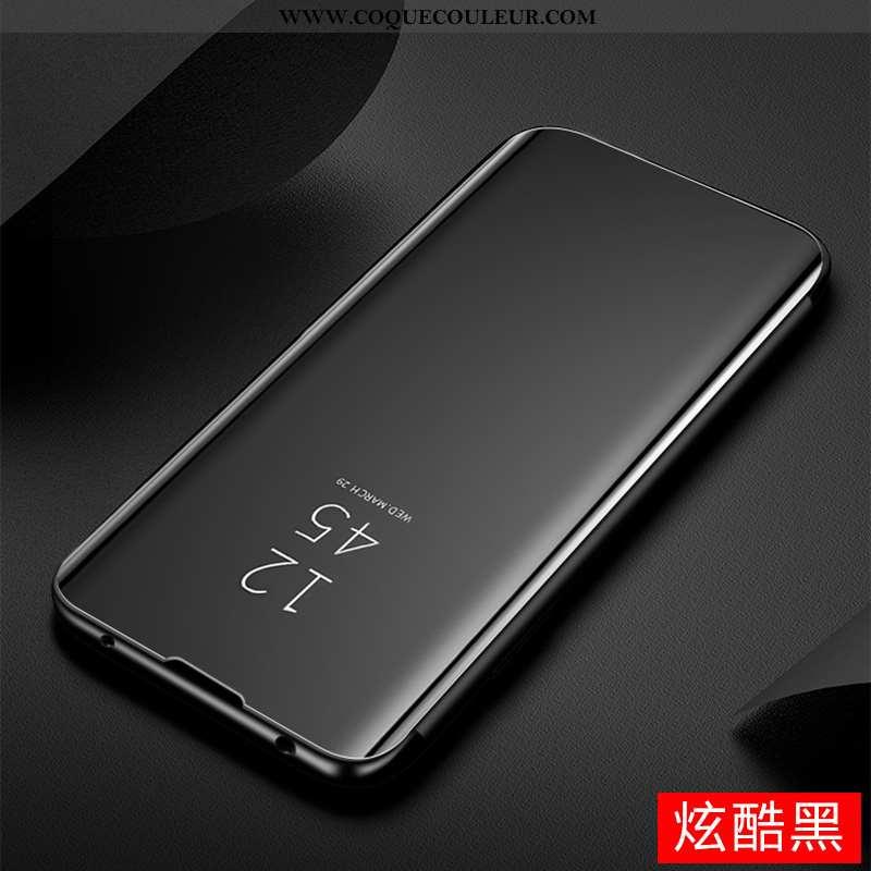 Coque Sony Xperia 1 Ii Tendance Miroir Tout Compris, Housse Sony Xperia 1 Ii Cuir Noir