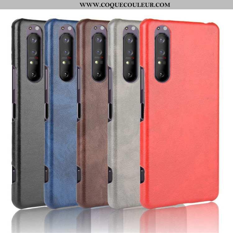 Coque Sony Xperia 1 Ii Modèle Fleurie Téléphone Portable Étui, Housse Sony Xperia 1 Ii Protection Cu