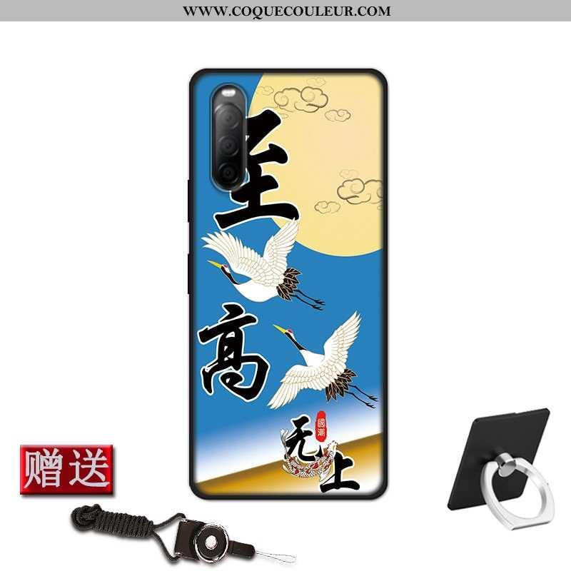 Coque Sony Xperia 10 Ii Fluide Doux Étui Téléphone Portable, Housse Sony Xperia 10 Ii Silicone Prote