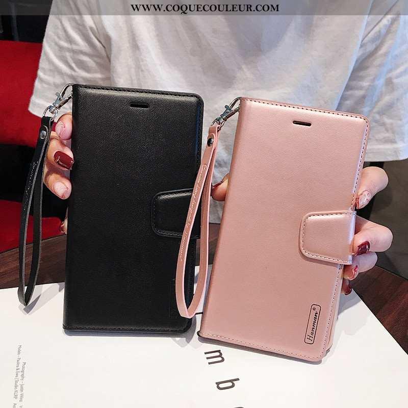 Étui Sony Xperia 10 Plus Cuir Coque Incassable, Sony Xperia 10 Plus Protection Tout Compris Noir