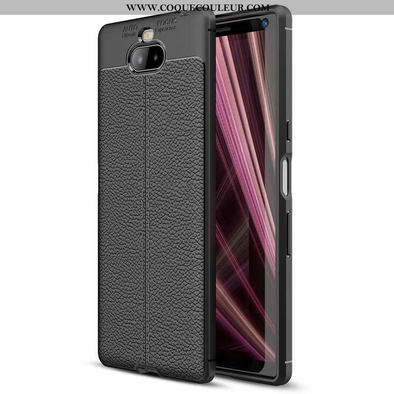 Coque Sony Xperia 10 Plus Protection Tout Compris Téléphone Portable, Housse Sony Xperia 10 Plus Noi