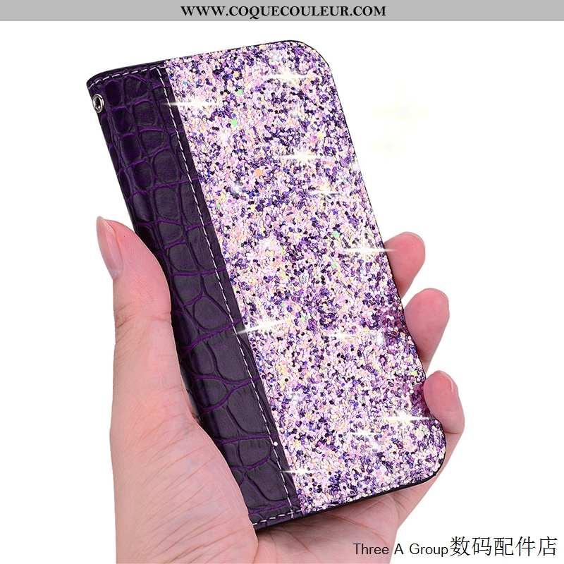 Housse Sony Xperia 10 Incassable Coque Téléphone Portable, Étui Sony Xperia 10 Violet Carte