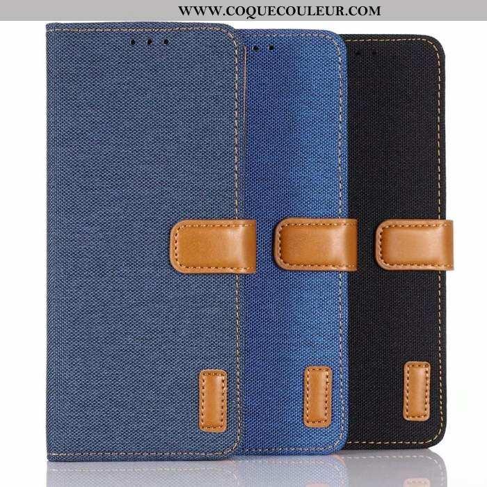 Étui Sony Xperia 10 Protection Difficile Coque, Coque Sony Xperia 10 Cuir Bleu