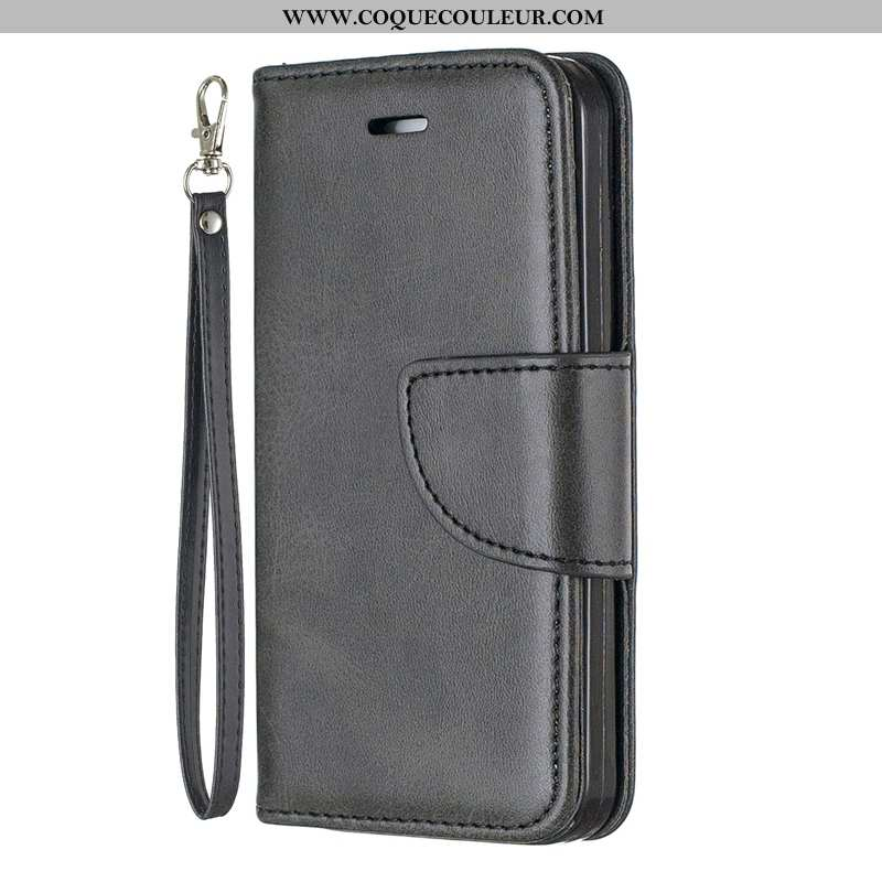 Étui Sony Xperia 10 Fluide Doux Noir Tout Compris, Coque Sony Xperia 10 Silicone Protection