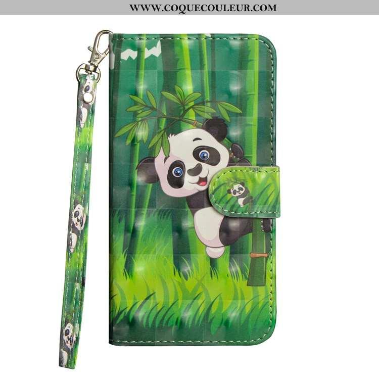 Étui Sony Xperia L1 Cuir Vert, Coque Sony Xperia L1 Fluide Doux Téléphone Portable Verte