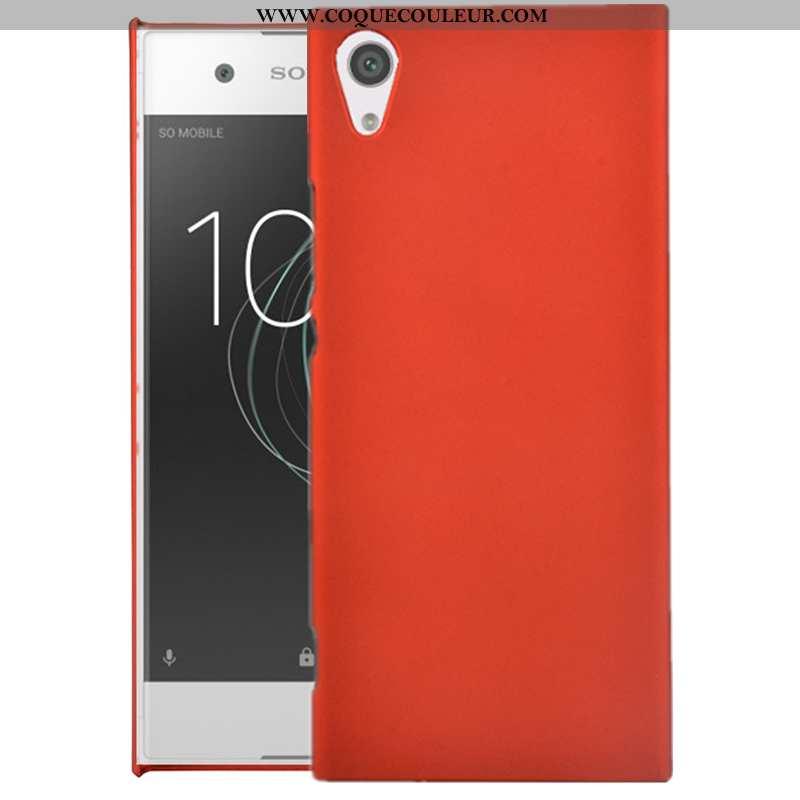 Coque Sony Xperia Xa Protection Rouge, Housse Sony Xperia Xa Délavé En Daim Téléphone Portable Rouge