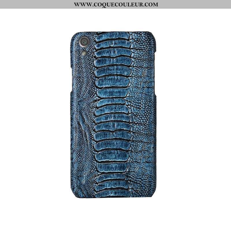 Coque Sony Xperia Xa Protection Personnalité Personnalisé, Housse Sony Xperia Xa Luxe Créatif Bleu F