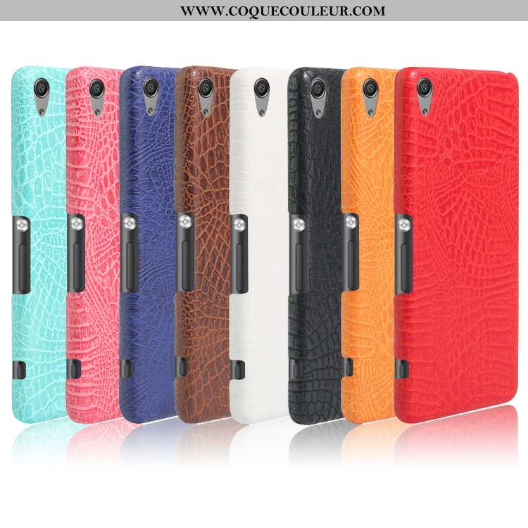 Étui Sony Xperia Xa Modèle Fleurie Incassable Coque, Coque Sony Xperia Xa Protection Crocodile Rouge