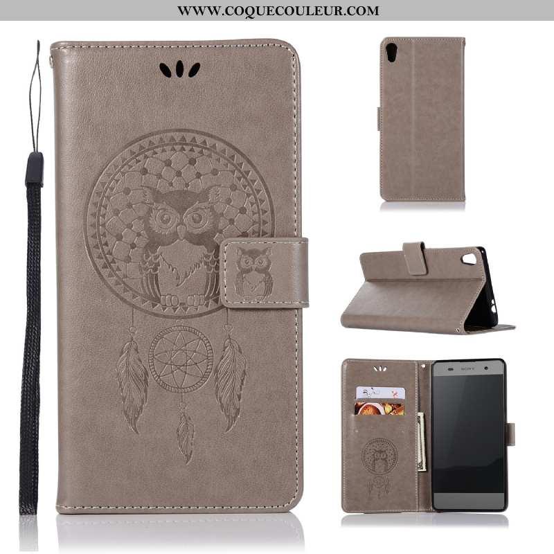 Housse Sony Xperia Xa Ultra Imprimé Téléphone Portable Chat, Étui Sony Xperia Xa Ultra Portefeuille