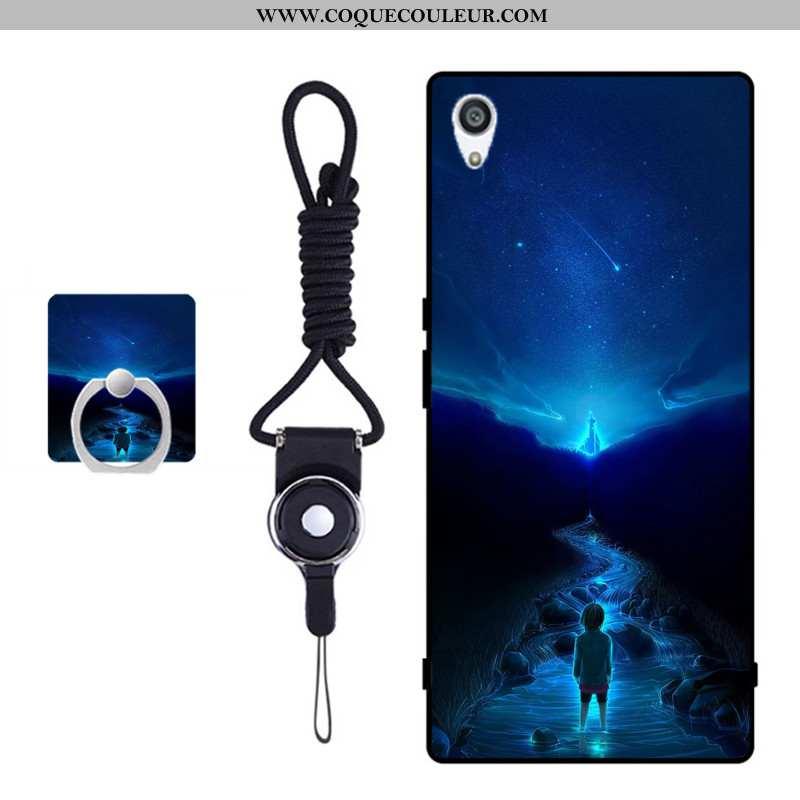 Housse Sony Xperia Xa Ultra Fluide Doux Bleu Étui, Étui Sony Xperia Xa Ultra Protection Téléphone Po