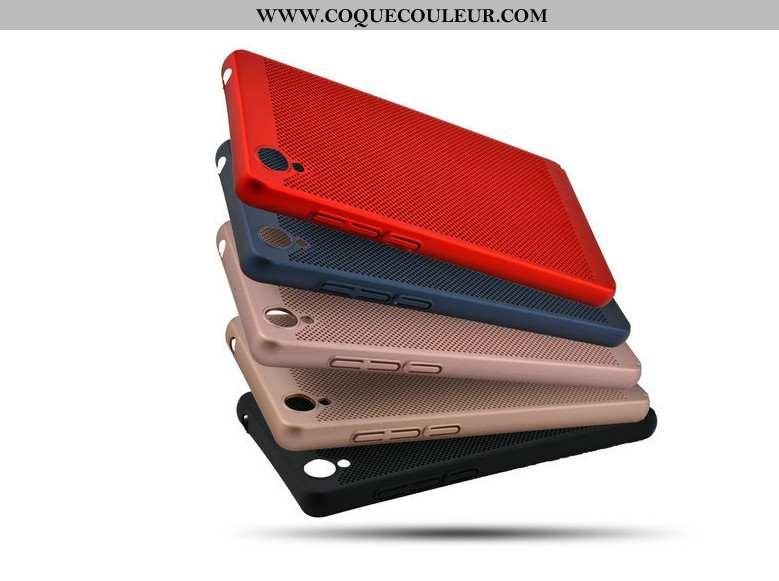 Coque Sony Xperia Xa Ultra Protection Étui Mesh, Housse Sony Xperia Xa Ultra Difficile Rouge