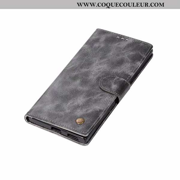 Étui Sony Xperia Xa Ultra Portefeuille Téléphone Portable, Coque Sony Xperia Xa Ultra Cuir Housse Gr