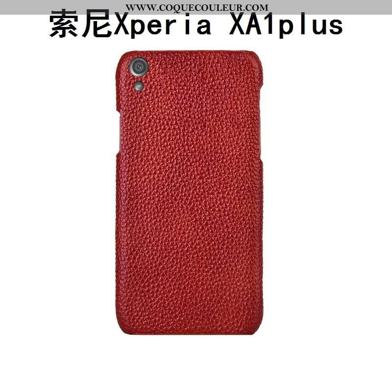Coque Sony Xperia Xa1 Plus Créatif Couvercle Arrière Protection, Housse Sony Xperia Xa1 Plus Cuir Vé