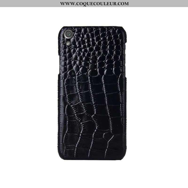 Étui Sony Xperia Xa1 Plus Protection Téléphone Portable Noir, Coque Sony Xperia Xa1 Plus Luxe Noir