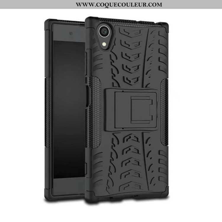 Housse Sony Xperia Xa1 Plus Protection Incassable Noir, Étui Sony Xperia Xa1 Plus Téléphone Portable
