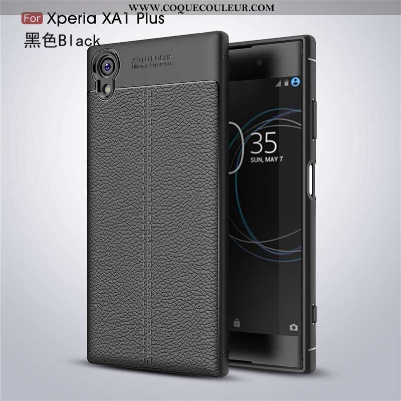 Étui Sony Xperia Xa1 Plus Cuir Téléphone Portable, Coque Sony Xperia Xa1 Plus Modèle Fleurie Créatif