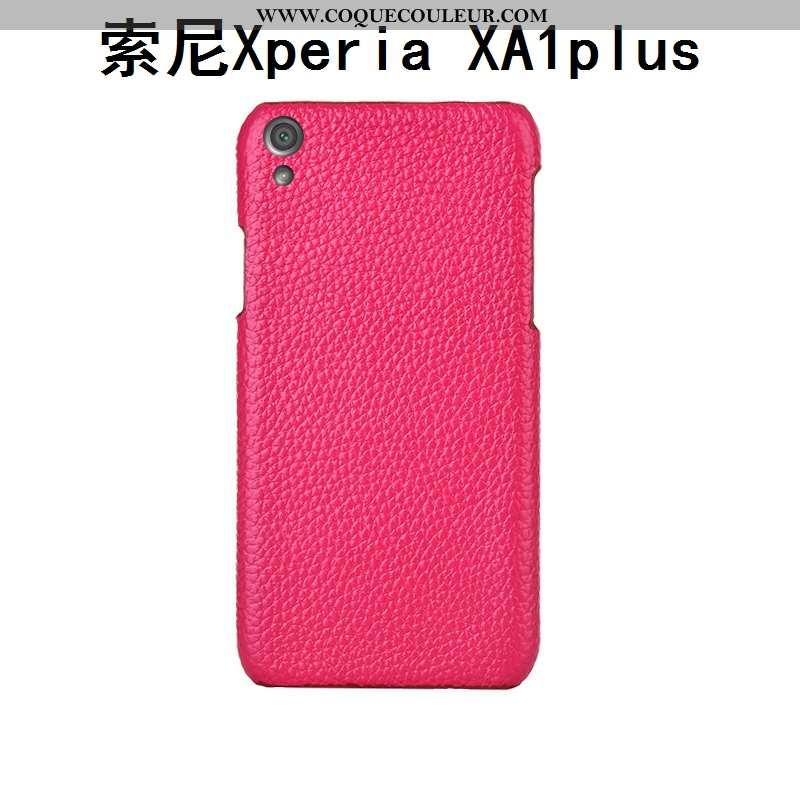 Coque Sony Xperia Xa1 Plus Protection Incassable Créatif, Housse Sony Xperia Xa1 Plus Luxe Rose
