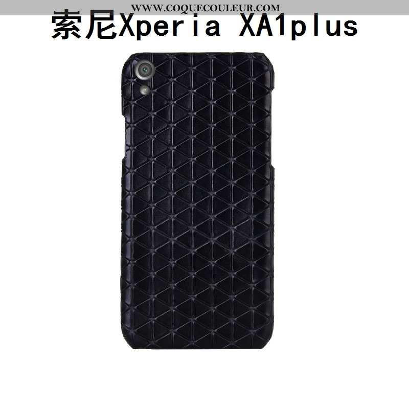 Coque Sony Xperia Xa1 Plus Luxe Personnalisé Créatif, Housse Sony Xperia Xa1 Plus Personnalité Cuir