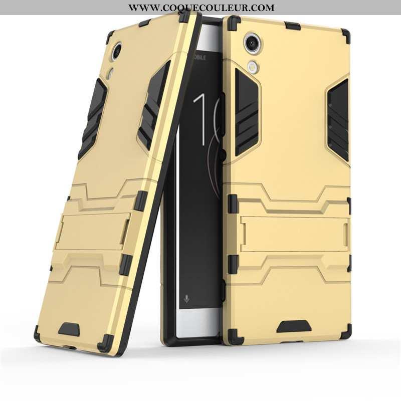 Coque Sony Xperia Xa1 Protection Étui Téléphone Portable, Housse Sony Xperia Xa1 Or Doré