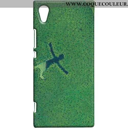 Étui Sony Xperia Xa1 Protection Difficile Étui, Coque Sony Xperia Xa1 Téléphone Portable Vert Verte