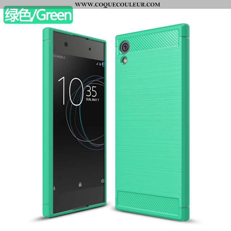 Housse Sony Xperia Xa1 Étui Téléphone Portable Coque, Sony Xperia Xa1 Vert Incassable Verte