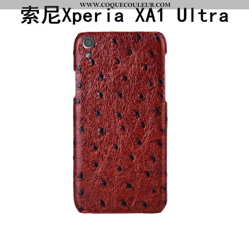 Coque Sony Xperia Xa1 Ultra Luxe Étui Téléphone Portable, Housse Sony Xperia Xa1 Ultra Personnalité