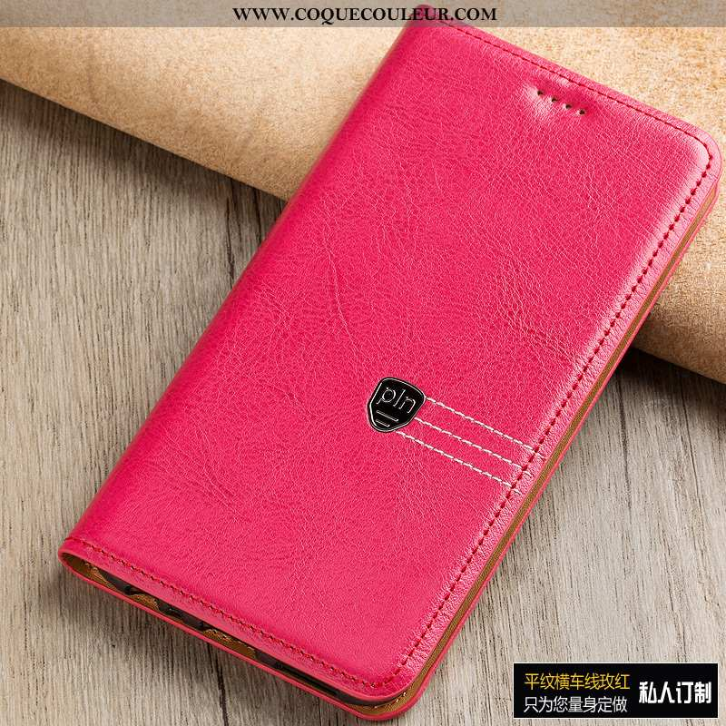 Étui Sony Xperia Xa1 Ultra Manuel Rouge, Coque Sony Xperia Xa1 Ultra Protection Téléphone Portable R