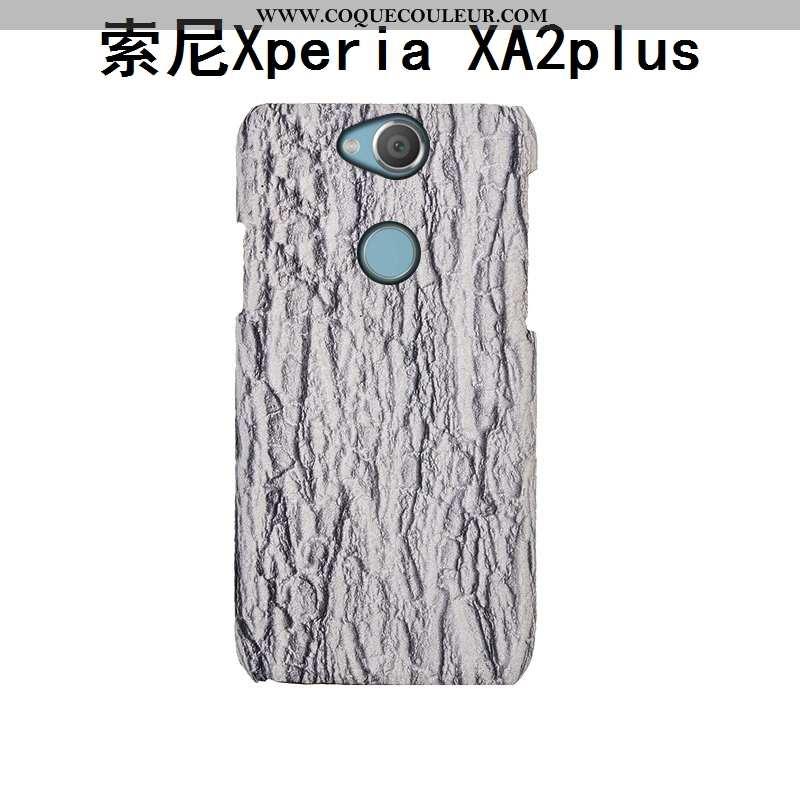 Housse Sony Xperia Xa2 Plus Cuir Personnalisé Couvercle Arrière, Étui Sony Xperia Xa2 Plus Mode Télé