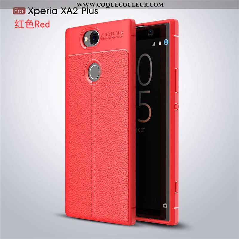 Coque Sony Xperia Xa2 Plus Fluide Doux Mode Business, Housse Sony Xperia Xa2 Plus Silicone Téléphone